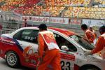 图文-全锦赛上赛场扫描华龙车队积极备战