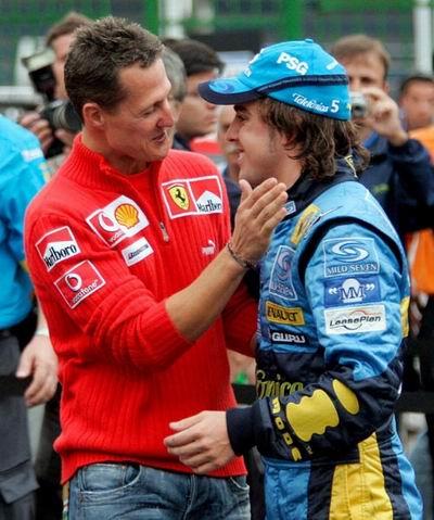 谁说七冠王就是巅峰F1阿布:阿隆索可以追平舒米
