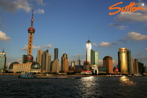 图文-f1中国上海魅力无穷 上海的标志性建筑