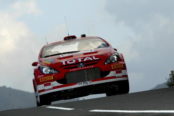 图文-WRC西班牙站LEG1格洛霍姆昂首阔步