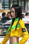 图文-澳门F3大赛性感女郎PS女郎秀发垂肩