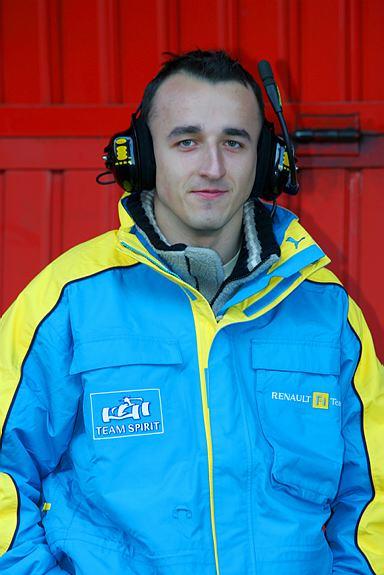 图文-F1巴塞罗那试车第三天波兰乖仔库比卡