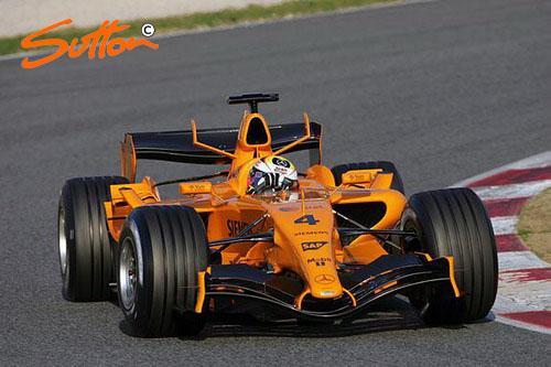 图文-F1巴塞罗那试车01.24 蒙托亚生龙活虎_赛
