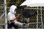 图文-F1马来西亚站排位赛高温害苦了摄影师