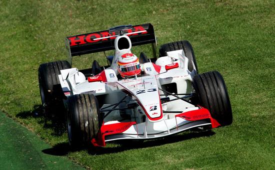 图文-F1澳大利亚站排位赛超级亚久里井出有治