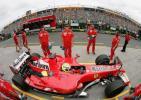 图文-F1澳洲站周六练习赛马萨进站调整赛车设置
