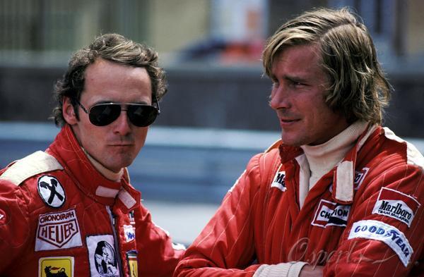 图文-迈凯轮40年辉煌历史詹姆斯-胡特与法拉利车队劳达
