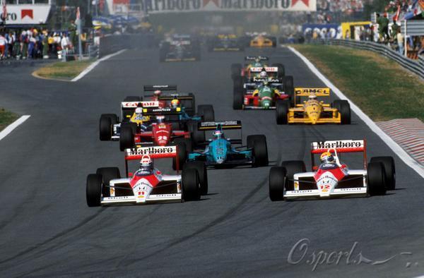 图文-迈凯轮40年辉煌历史1998年葡萄牙站普罗斯特与塞纳