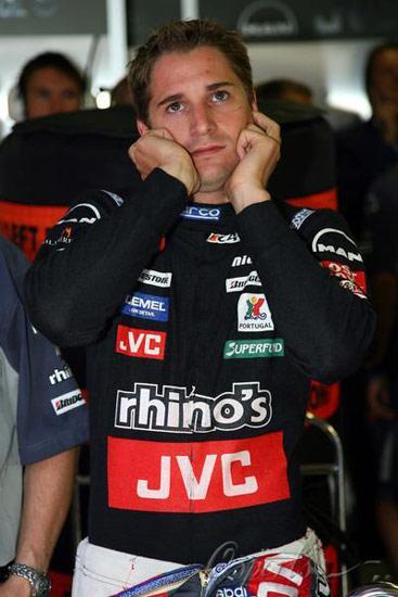 F1匈牙利站首次练习赛阿尔博斯木呆呆