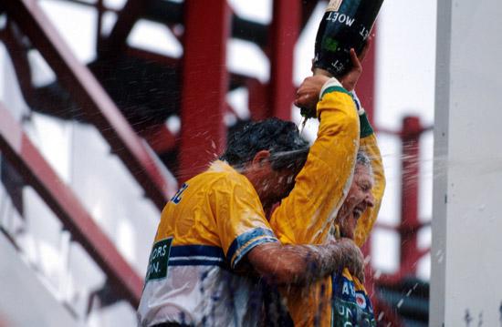 图文-全程记录舒马赫职业生涯分站冠军92年比利时站
