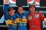 图文-全程记录舒马赫职业生涯分站冠军95年西班牙站