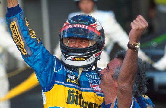 图文-全程记录舒马赫职业生涯分站冠军95年太平洋站