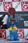 图文-全程记录舒马赫职业生涯分站冠军95年日本站