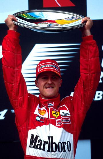 图文-全程记录舒马赫职业生涯分站冠军2000年澳大利亚站