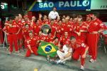 图文-全程记录舒马赫职业生涯分站冠军2000年巴西站