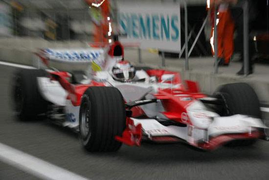 图文-F1中国站周五自由练习赛丰田车队特鲁利