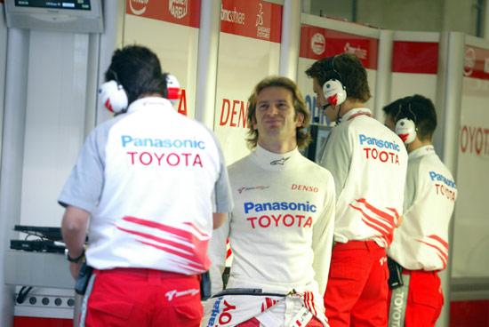 图文-F1中国大奖赛排位赛丰田车队特鲁利