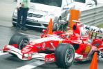 图文-F1中国大奖赛排位赛舒马赫驶回维修站