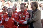 图文-法拉利车队年终庆典法拉利三巨头联手
