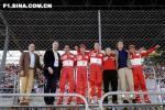 图文-法拉利车队年终庆典法拉利八仙接受顶礼膜拜