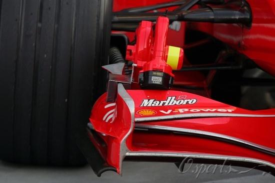 图文-F1车队巴林试车第三日法拉利制动冷却器