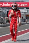 图文-F1车队巴林试车第三日头盔下KIMI的心情如何?