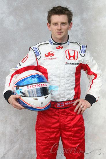 图文-07赛季F1正式车手官方照23号戴维森