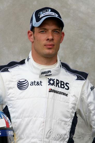 图文-07赛季F1正式车手官方照17号伍尔兹