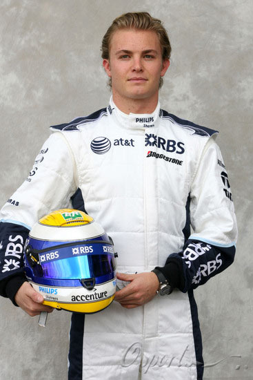 图文-07赛季F1正式车手官方照16号罗斯伯格