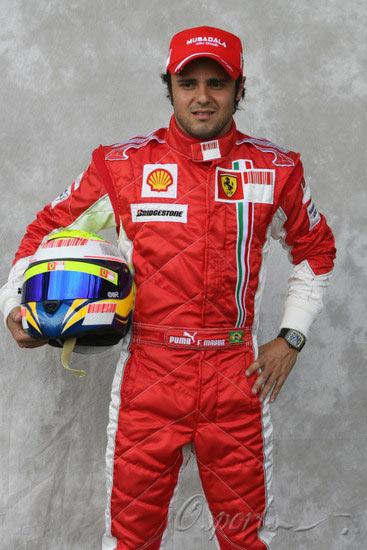 图文-07赛季F1正式车手官方照5号马萨