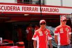 图文-F1车手亮相摩纳哥法拉利给自己造势