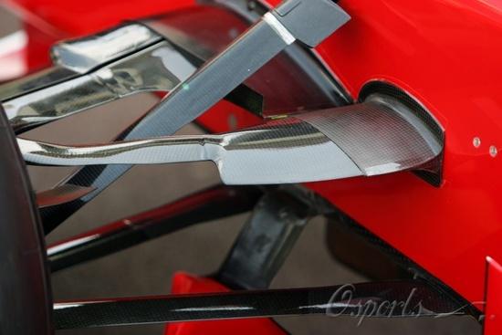 图文-F1摩纳哥站聚焦技术细节斜拉杆延展用于制造下压力