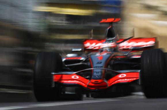 图文-F1摩纳哥站第一次练习蒙特卡罗街头幻影