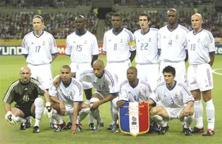 图文-法国vs乌拉圭 法国队首发阵容全家福_世界杯