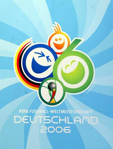 图文-2006世界杯赛徽揭晓 德国人笑脸相迎八方客图片