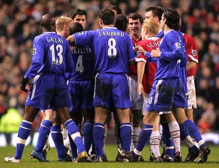 曼联切尔西球员评分:蓝军五人并列最高红魔两将最低