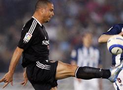 罗纳尔多脚后跟进球羞辱死敌被誉世界第五大球王
