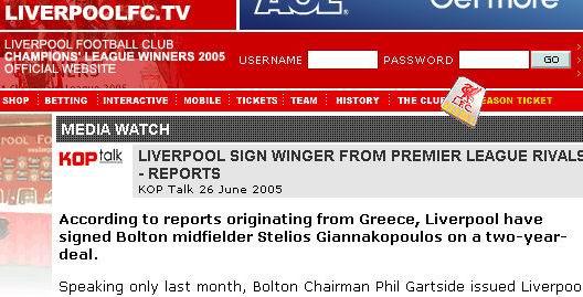 媒体披露利物浦签下意外新援霍利尔时代又一人遭清洗