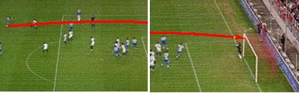 西甲第14轮最佳进球:拉科飞翼穿裆远射挂死角(图)