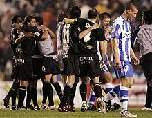 国王杯-西班牙人逼平拉科进决赛将同巨人杀手争冠