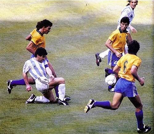 世界杯助攻王排行:马拉多纳居首四位大师紧随