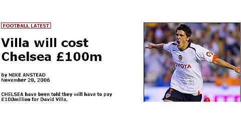 切尔西紧盯猎物被贴天价标签:想买他?拿一亿英镑来