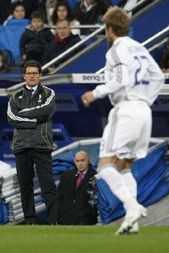 西甲-贝克汉姆红牌被罚范尼射中门框皇马战平