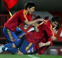 欧预赛-西班牙荷兰告捷巴萨两将献绝杀葡萄牙平