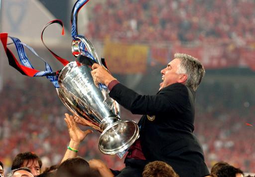 安切洛蒂称AC米兰夺冠天命注定马队放言明年蝉联欧冠