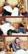 图文-鲁尼与女友科琳浪漫图集金童玉女床上嬉戏