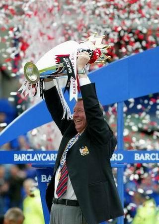 图文-弗格森执教生涯回顾2003重登英超王位
