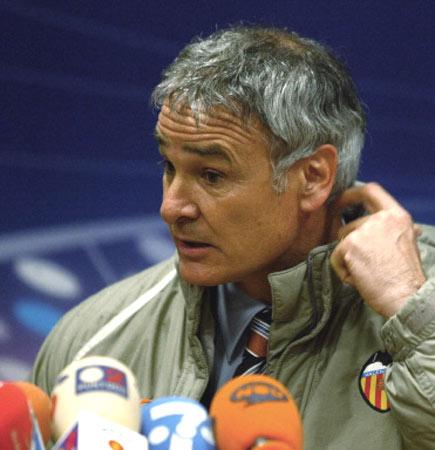图文-联盟杯瓦伦西亚出局拉涅利是福星抑或灾星?