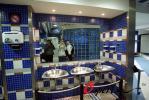 图文-皇马球星更衣室全曝光伯纳乌球场内卫生间