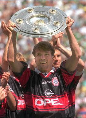 """从英超回顾德甲的金色轰炸机""""克林斯曼"""",90年世界杯冠军队长马特乌斯图片"""
